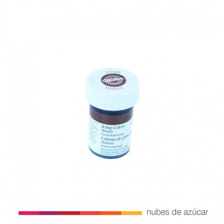 Wilton Colorante en Gel Marrón 28 gr