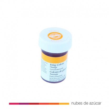 Wilton Colorante en Gel Naranja 28 gr