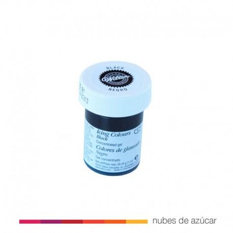 Wilton Colorante en Gel Negro 28gr