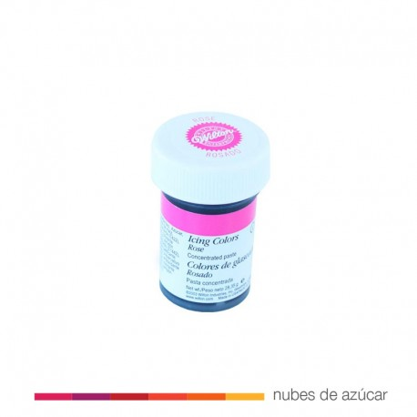 Wilton Colorante en Gel Rosado 28 gr
