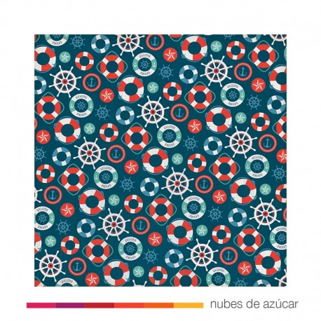 Papel para decorar All Aboard 30x30