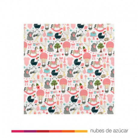 Papel para decorar Precius Bundle 30x30