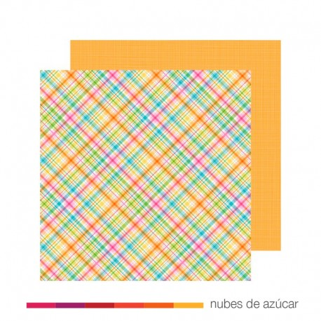 Papel para decorar Garden Plaid 30x30