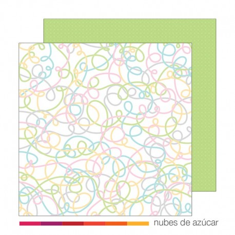 Papel para decorar Yards or yarn 30x30