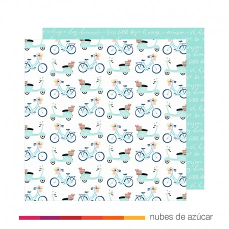 Papel para decorar More play Love