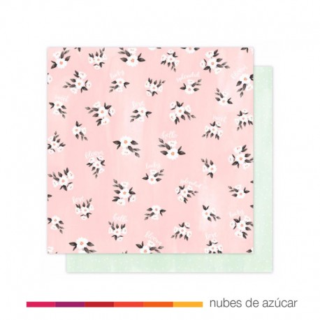 Papel para decorar Lazy Daisy 30x30