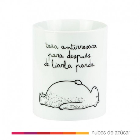 Taza Antirresaca Mr Wonderful