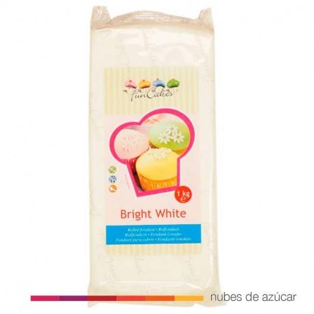 Fondant Funcakes Blanco sabor Vainilla 1kg fc9710