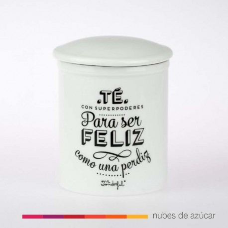 Tazá de té para ser feliz Mr Wonderful