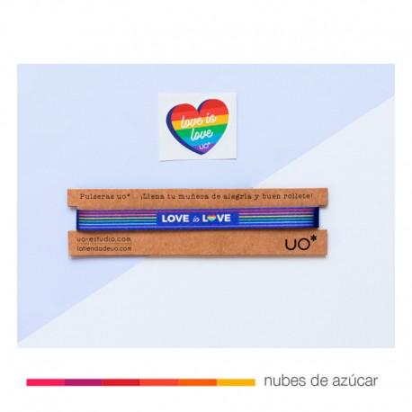 Pulsera Love is Love