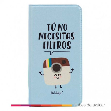 Funda iphone 6 tu no necesitas filtros Mr Wonderfu