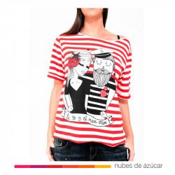 Camiseta Tu, Yo y el mar Talla Única