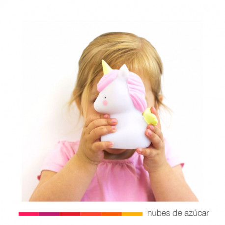 Lamparita quitamiedos Baby Unicornio