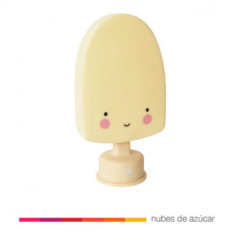 Luz quitamiedos helado Amarilloi