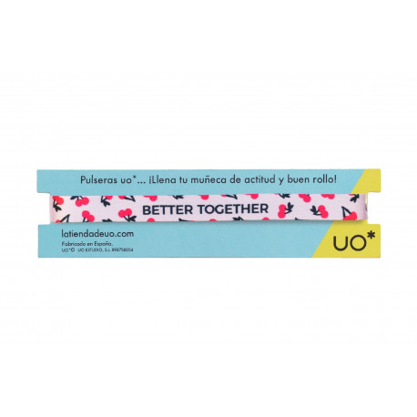 Pulsera Better together