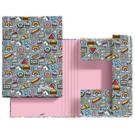 Carpeta Solapas Stickers