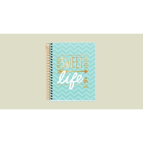 Cuaderno A6 Sweet life