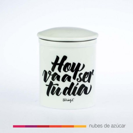 Taza para té hoy va a ser tu dia Mr Wonderful