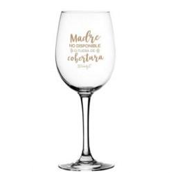 Copa de vino-Madre no disponible o fuera....