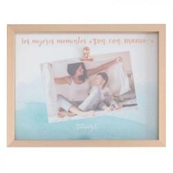 Marco de fotos-Los mejores momentos son con mamá