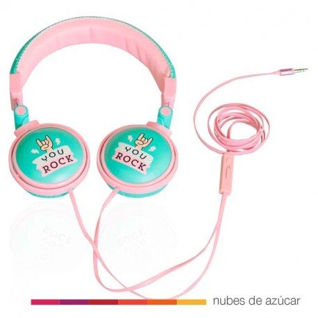 Auriculares You rock Mr. Wonderful