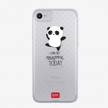 Funda para móvil iphone 7 Panda