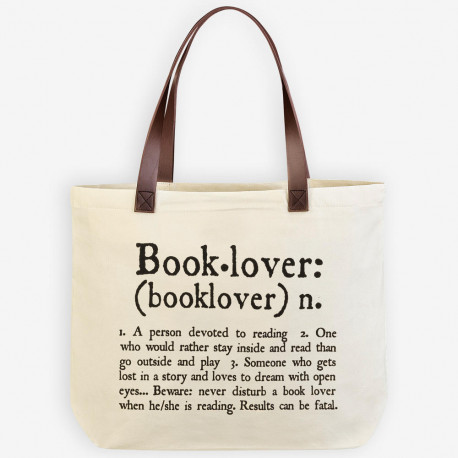 Shopping bag Booklovers