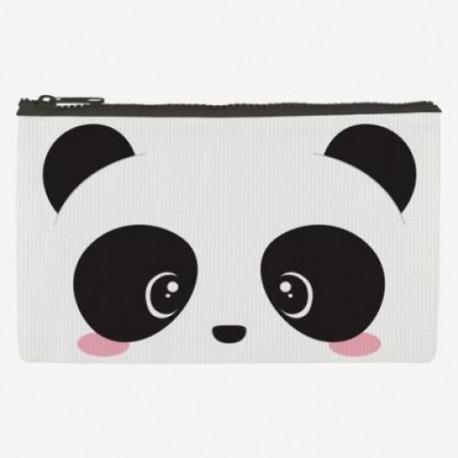 Bolsa con cremallera Panda