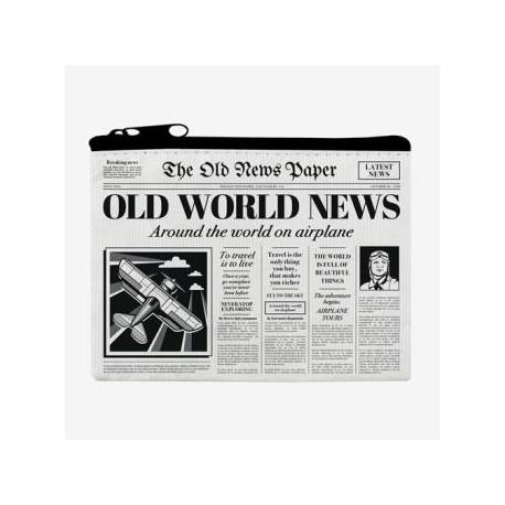 Monedero pequeño Periódico