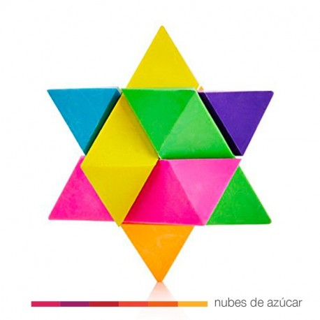 Goma de borrar puzle de colores