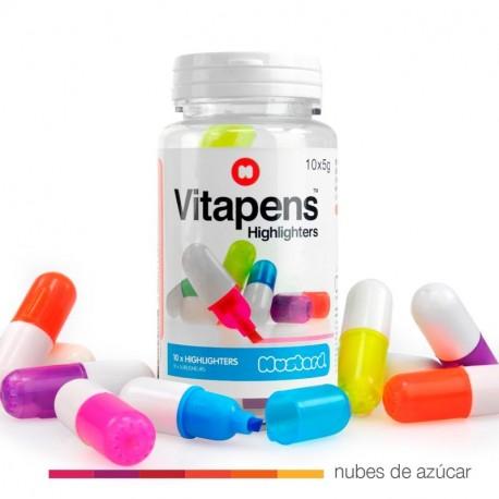 Vitapen fluorescentes de colores