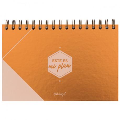 Organizador semanal- Este es mi plan