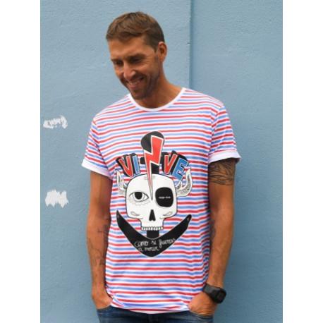 Camiseta Unisex Vive como si fueras... T.L
