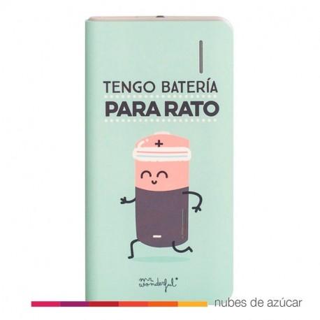 Power bank tengo batería para rato
