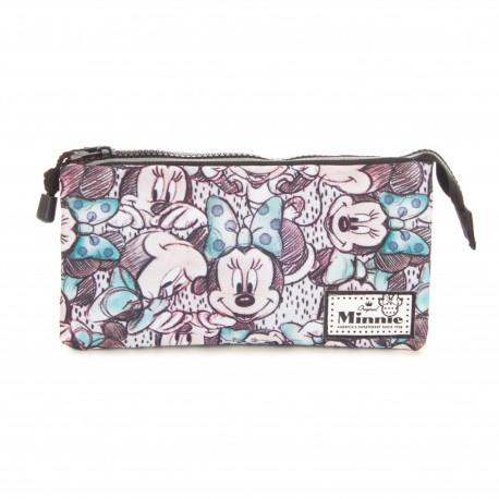 Estuche triple Classic Minnie