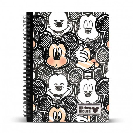 Cuaderno DIN A4 Classic Minnie