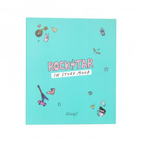 Carpeta archivadora Rockstar in study mood