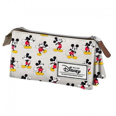 Estuche triple Classic Mickey