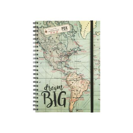 Libreta A4 Dream big