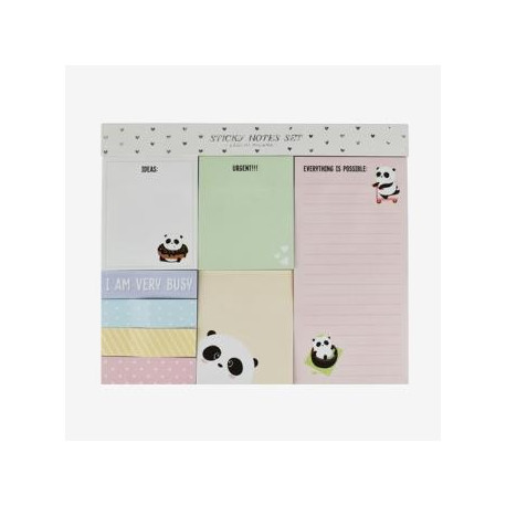 Notas adhesivas removibles Panda