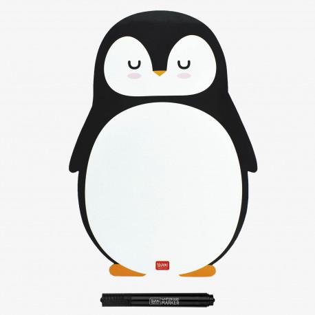 Pizarra magnética Pingüino
