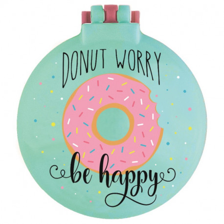 Nice hair Donut worry be happy