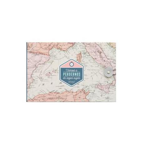 Álbum de viaje- Vamos a perdernos en algún lugar