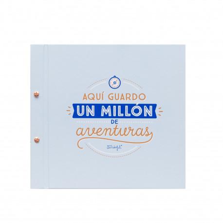 Álbum Aquí guardo un millón de aventuras