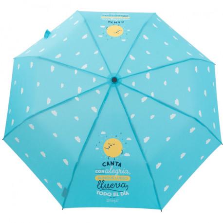 Paraguas mediano Canta con alegria aunque...