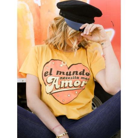 Camiseta El mundo necesita más amor T.L