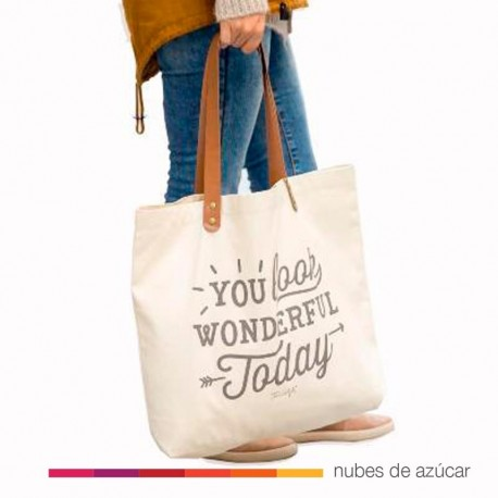 Bolso You look wonderful today Mr wonderful