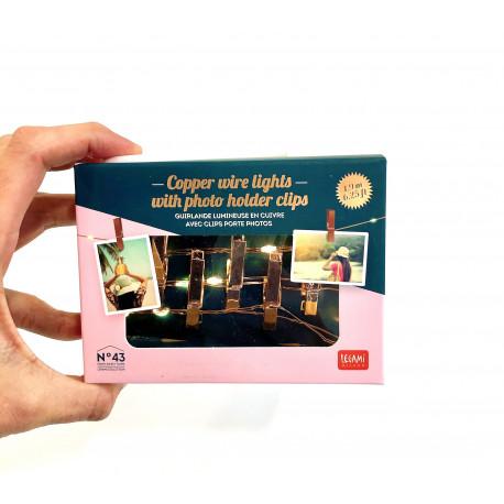 Guirnalda de luces para fotos