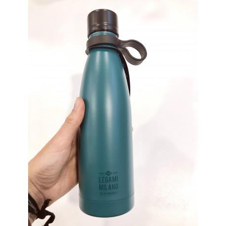 Botella Hot&cold Azul petroleo