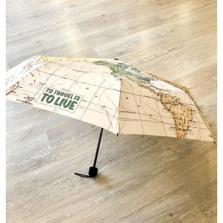 Paraguas Mapa